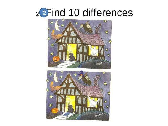 2. Find 10 differences 2