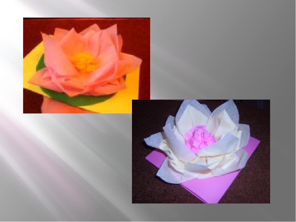презентация открытка цветы из салфеток своими пожеланиями