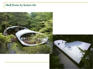 Shell House by Kotaro Ide