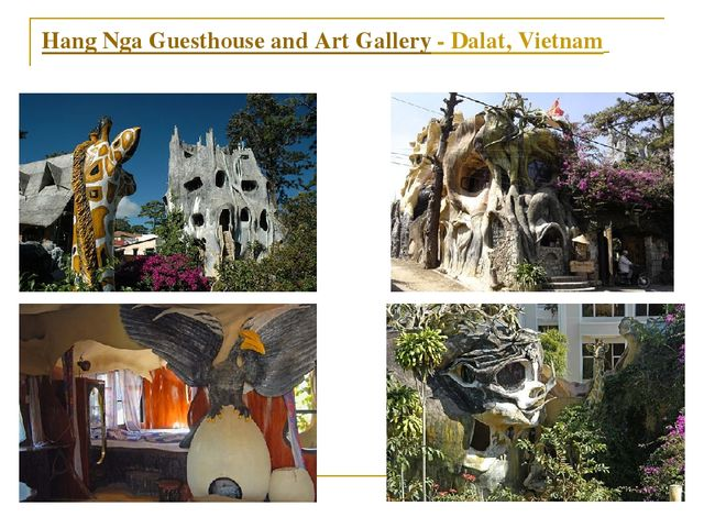 Hang Nga Guesthouse and Art Gallery - Dalat, Vietnam