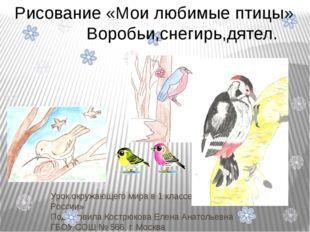 Урок окружающего мира в 1 классе УМС «Школа России» Подготовила Кострюкова Ел