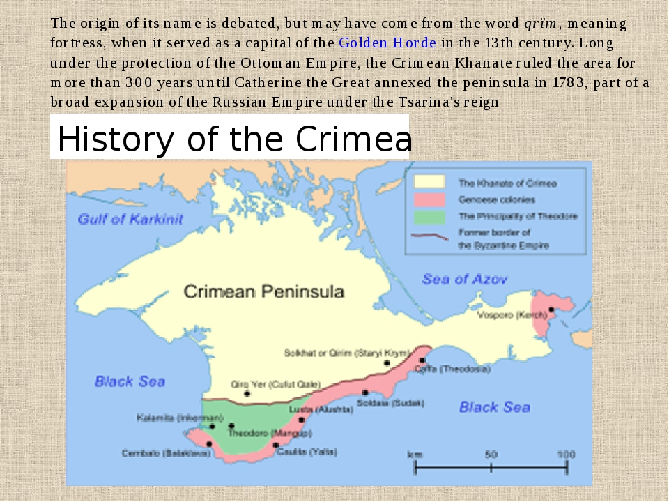 History of the Crimea