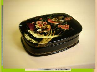Lacquer miniature of Bashkiria (лаковая миниатюра из Башкирии) gives a sense