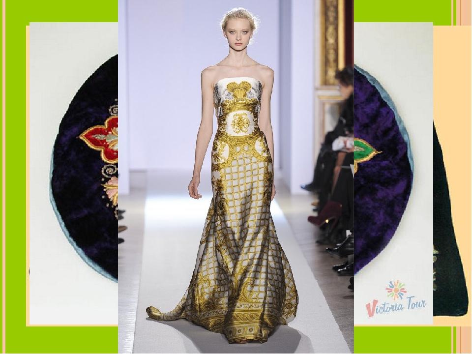 Gold embroidery (золотое шитьё) is one of a kind. Masters from Torzhok have m...