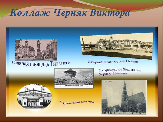 Коллаж Черняк Виктора