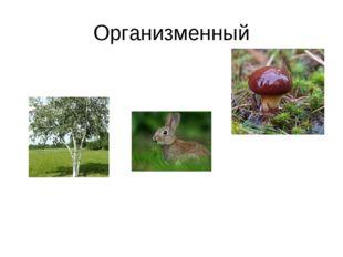 Организменный