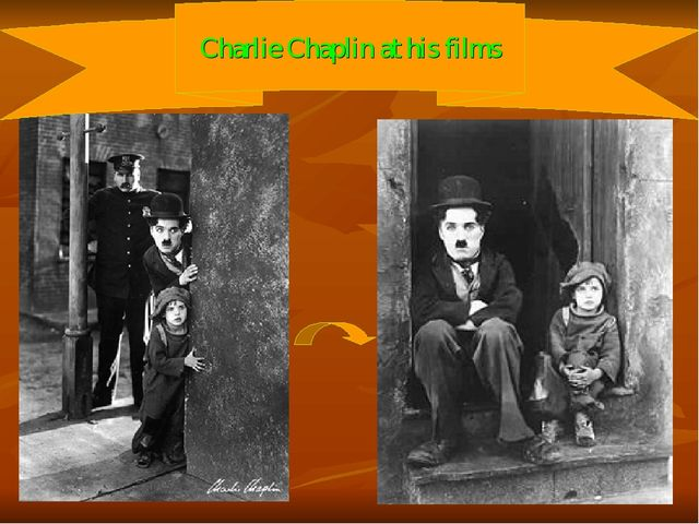 Charlie Chaplin at his films
