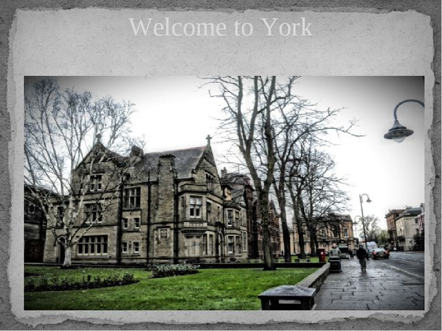 Welcome to York