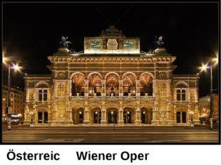 Österreich Wiener Oper