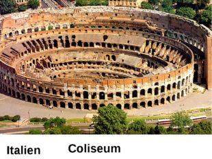 Italien Coliseum
