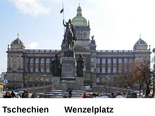 Tschechien Wenzelplatz