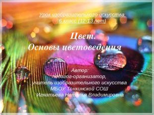 Автор: педагог-организатор, учитель изобразительного искусства МБОУ Тонкинско