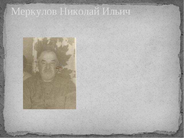 Меркулов Николай Ильич