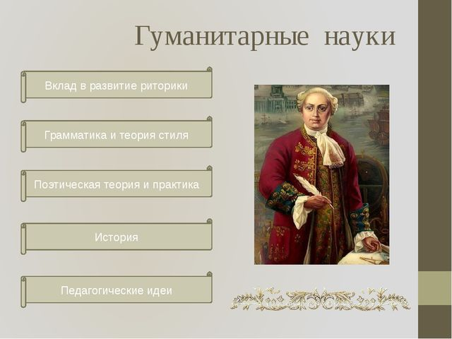 Гуманитарные науки Вклад в развитие риторики Грамматика и теория стиля Поэтич...