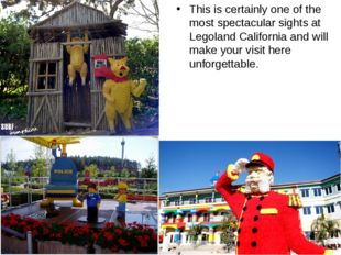 This is certainly one of the most spectacular sights at Legoland California a