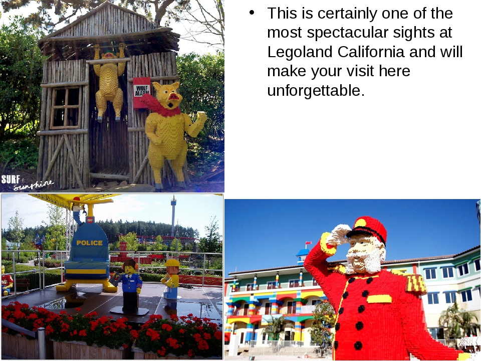 This is certainly one of the most spectacular sights at Legoland California a...