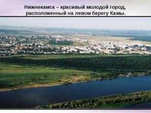 Нижнекамск – красивый молодой город, расположенный на левом берегу Камы.