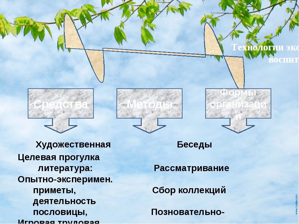 Художественная Беседы Целевая прогулка литература: Рассматривание Опытно-экс...
