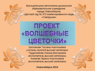 Муниципальное автономное дошкольное образовательное учреждение города Новосиб