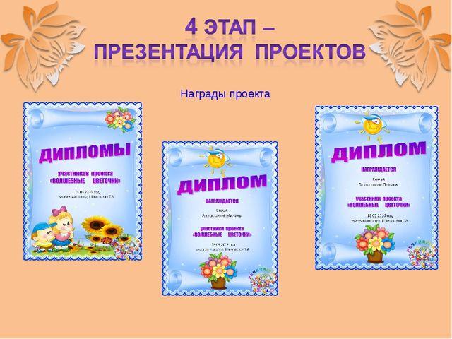Награды проекта
