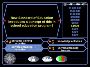 New Standard of Education introduces a concept of this in school education pr