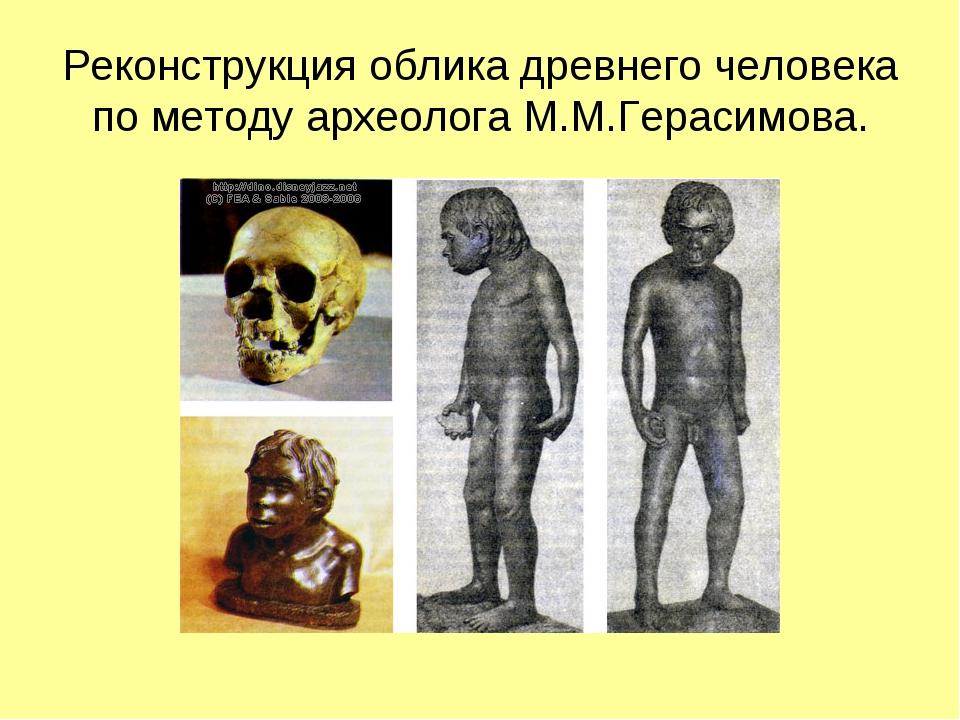 Реконструкция облика древнего человека по методу археолога М.М.Герасимова.