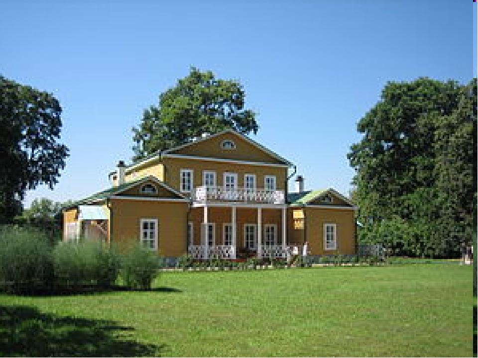 Архитектурный ансамбль усадьбы В первый комплекс входят: Барский дом Церковь...