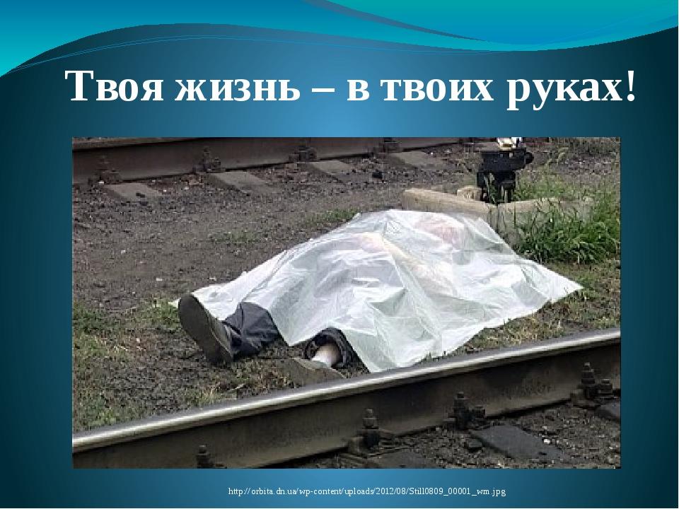 Твоя жизнь – в твоих руках! http://orbita.dn.ua/wp-content/uploads/2012/08/St...