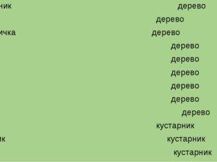 Боярышник дерево Яблоня дерево Груша-дичка дерево Клён дерево Дуб дерево