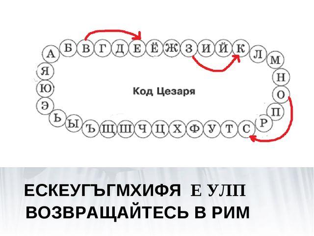 Декодируй сообщение, записанное кодом Цезаря (при декодировании каждая буква...