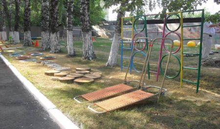 Спортивная площадка своими руками в детский сад