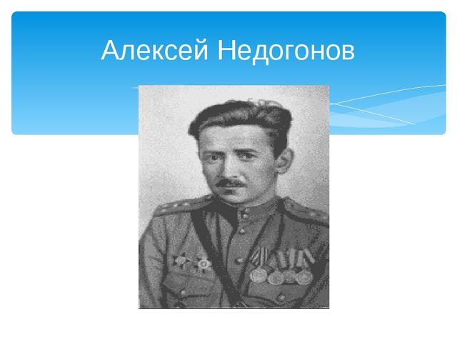 Алексей Недогонов