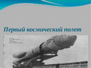 Первый космический полет человека состоялся 12 апреля 1961 года, когда в косм
