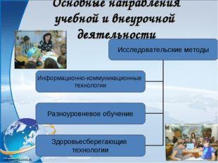 Основные направления учебной и внеурочной деятельности