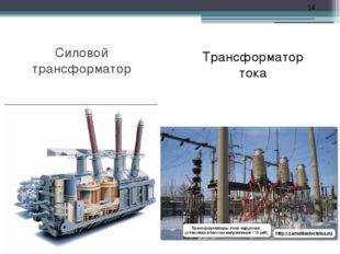 Силовой трансформатор Трансформатор тока