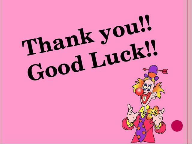 Thank you!! Good Luck!!