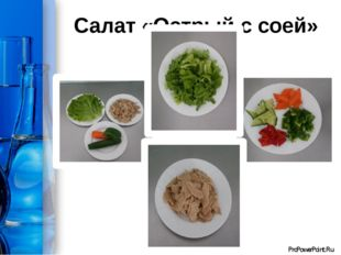 Салат «Острый с соей» ProPowerPoint.Ru