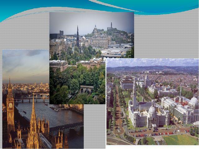В каждой из этих стран и их столицах, Лондоне, Эдинбурге и Кардиффе, есть мн...