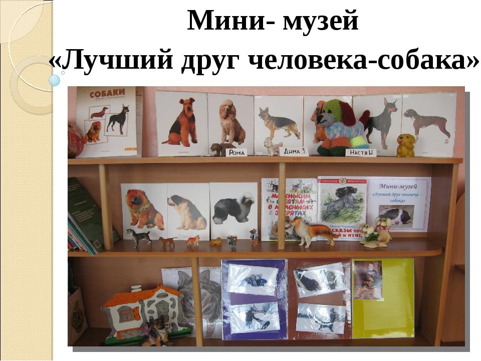 Мини- музей «Лучший друг человека-собака»