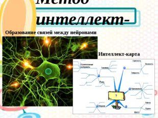 Метод интеллект-карт Образование связей между нейронами Интеллект-карта