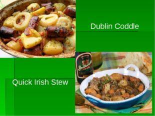 Dublin Coddle Quick Irish Stew