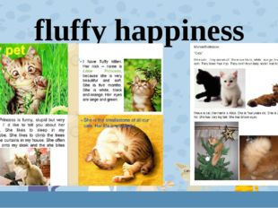 fluffy happiness