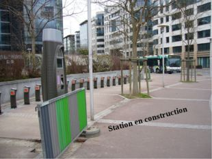 Station en construction