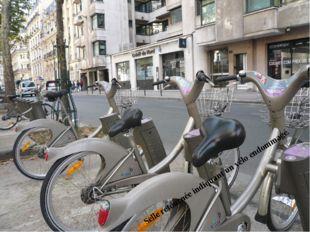 Selle retournée indiquant un vélo endommagé.