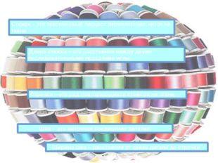 Стежок – это законченный процесс переплетения ниток на ткани Строчка – это ря
