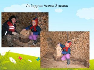 Лебедева Алина 3 класс