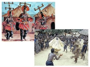 Во многих районах Африки и сегодня можно увидеть удивительное зрелище - ритуа