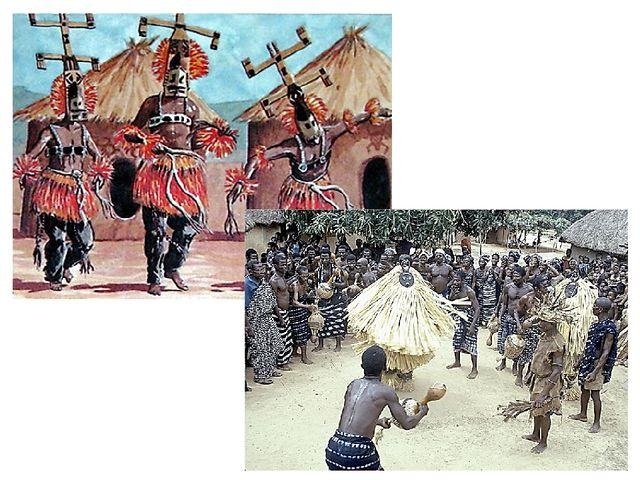 Во многих районах Африки и сегодня можно увидеть удивительное зрелище - ритуа...