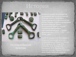 История Основной теорией, объясняющей на сегодняшний день истоки кобанской ку