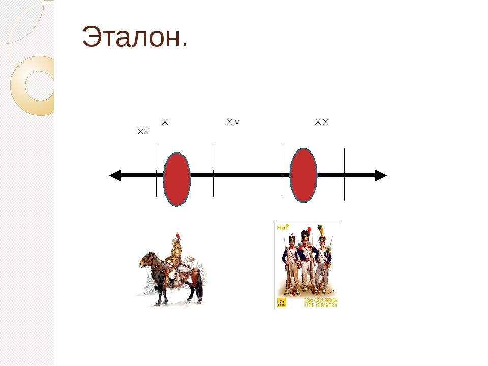 Эталон. X XIV XIX XX